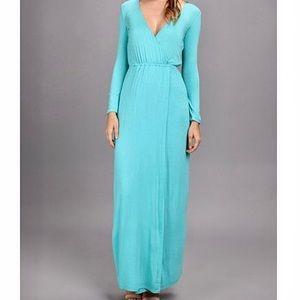Brigette Bailey Faux wrap new dress sz Large